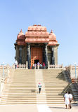 Swami Vivekananda Rock Memorial - a famous tourist monument in Vavathurai, Kanyakumari Royalty Free Stock Photo