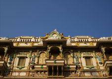 swaminarayan艾哈迈达巴德的mandir 库存照片