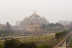 Swaminarayan Akshardham Foto de archivo libre de regalías