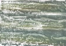 Swamp green streaked wash drawing texture Stock Photo