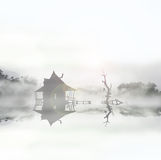 Swamp hut 2 Royalty Free Stock Photos
