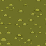 Swamp seamless pattern. Big green morass texture. Bubbles on bac Royalty Free Stock Photos