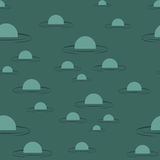 Swamp seamless pattern. Big green morass texture.  Royalty Free Stock Photo
