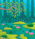 Swamp theme image 2 Royalty Free Stock Image