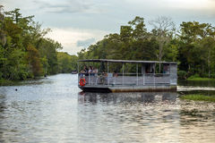 Swamp tour in New Orleans Louisiana Stock Image