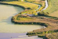 Swampland at lake Hopfensee Stock Photography