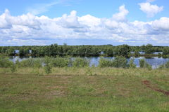 Swamps in Lower Saxony, Germany. Borderline of Germany and The Netherlands Stock Photography