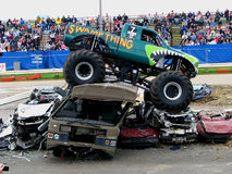 Swampthing Monster Truck Stock Images