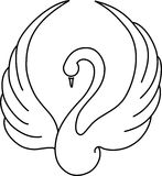 Swan stock illustration