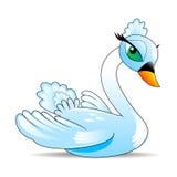Swan royaltyfri illustrationer