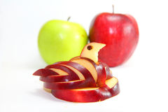Swan apple Stock Photo