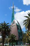 Swan Bell tower in Perth, Australia. The bell tower in Perth, Western Australia, which contains the swan bells and is a major tourist attraction set alongside Stock Photography