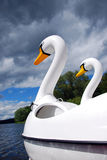 Swan boat Royalty Free Stock Photo
