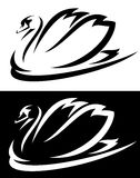 Swan design Royalty Free Stock Photo