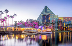 Swan and Dolphin Hotel, Disney World Royalty Free Stock Photo