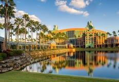 Swan and Dolphin Hotel, Disney World stock photos