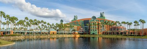 Swan and Dolphin Hotel, Disney World Royalty Free Stock Photography