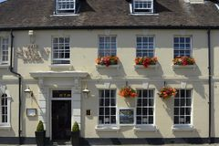The Swan Hotel in Arundel. Sussex. England Stock Photos