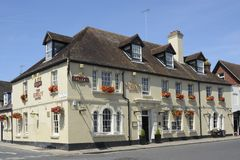The Swan Hotel in Arundel. Sussex. England Stock Images