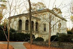 Swan House in Atlanta Royalty Free Stock Image