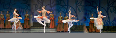 Swan Lake ballet Stock Photography
