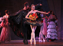 Swan Lake ballet performed by Russian Royal Ballet Stock Photos
