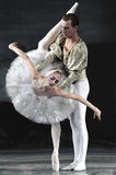Swan lake ballet performed by russian royal ballet Stock Photography