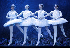 Swan lake ballet Stock Photo