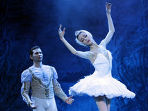 Swan lake ballet Stock Photos