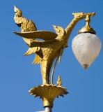 Swan  lamp Royalty Free Stock Image