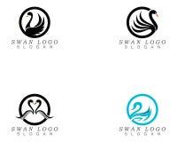 Free Swan Logo Template Vector Illustration Design. Royalty Free Stock Image - 150693636