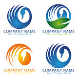 Swan Modern Concept Logo Royalty Free Stock Images
