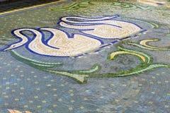Swan mosaic Royalty Free Stock Photos