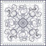 Swan pattern design Royalty Free Stock Photos