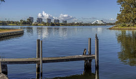 Swan river in Perth royalty free stock photography