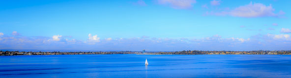 Swan River Stock Photo