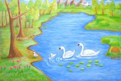 Swan's Land Stock Images
