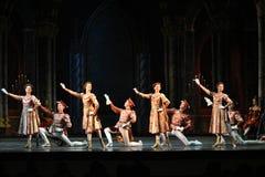 Swan See-Ballett Lizenzfreies Stockfoto