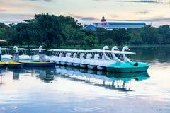 Swan ship Royalty Free Stock Photo