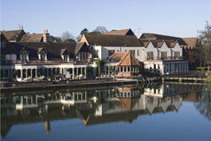 The Swan at Streatley-on-Thames West Berkshire. River Thames,Streatley-on-Thames,West Berkshire Stock Image