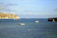 swanage του Dorset κόλπων Στοκ εικόνες με δικαίωμα ελεύθερης χρήσης