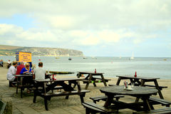 Swanage bay, Dorset. Royalty Free Stock Image