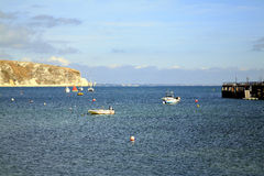 Swanage bay, Dorset. Royalty Free Stock Images