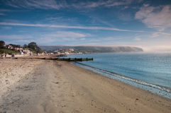 Swanage Beach Royalty Free Stock Photo
