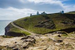 Swanage Coastal Path Landscape royalty free stock images