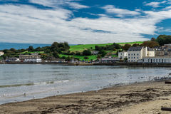 Swanage. Is a coastal town and civil parish in the south east of Dorset, England Royalty Free Stock Image