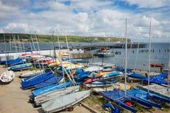 Swanage Dorset Großbritannien Stockfotos