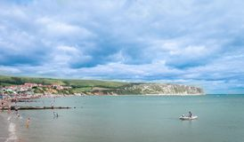 Swanage Dorset, UK Seaside. Royalty Free Stock Photography