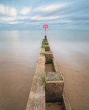 Swanage Groyne Stock Photography