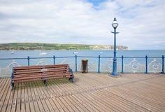 Swanage-Pier 2 Lizenzfreie Stockfotos